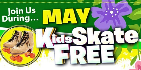 Kids Skate FREE with this Ticket - Sunday, May 16th, 12:30-2:30pm tickets