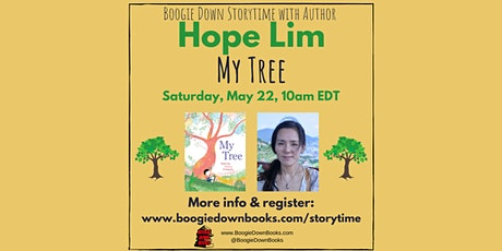 Boogie Down Storytime with Author Hope Lim (May 22, online only) tickets