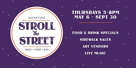 Stroll the Street Pop-up tickets