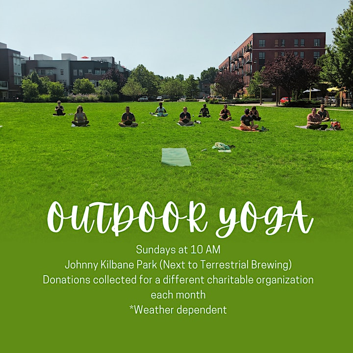 Yoga in the Park - Outdoor Donation Yoga image