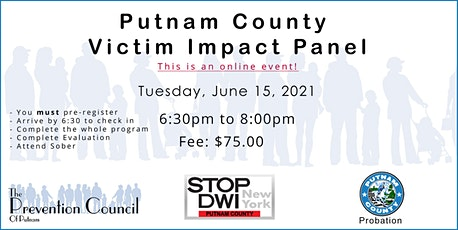 Putnam County Victim Impact Panel tickets