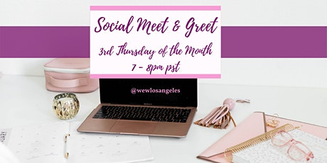 Social Meet & Greet entradas