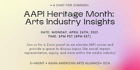 A Chat for Change: AAPI Heritage Month tickets