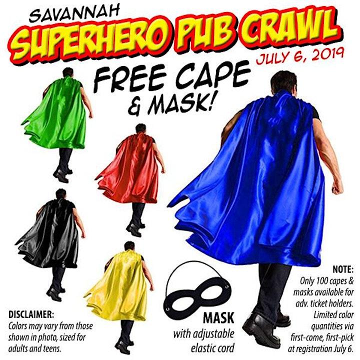 SuperHero Pub Crawl (Savannah, GA) image