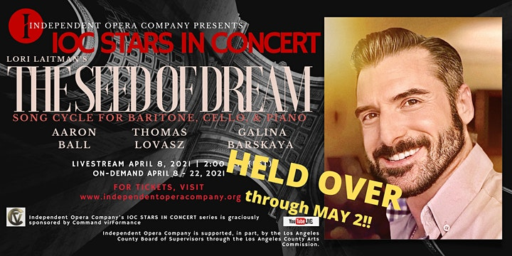 "IOC Stars in Concert: Lori Laitman's ""The Seed of Dream"" image"
