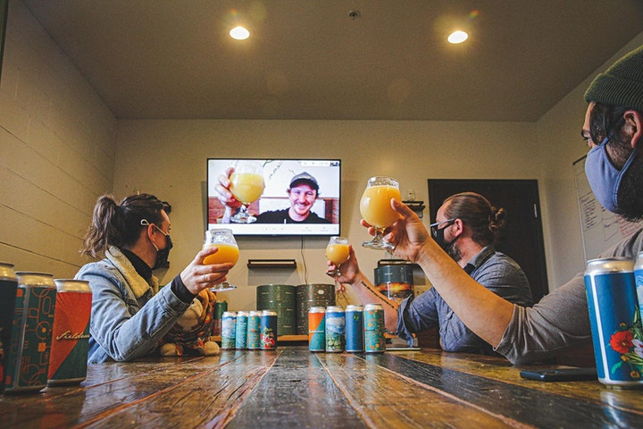 Virtual Beer Tasting Event with Fieldwork Brewing image
