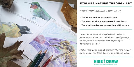 Nature Drawing with Color Pencils tickets