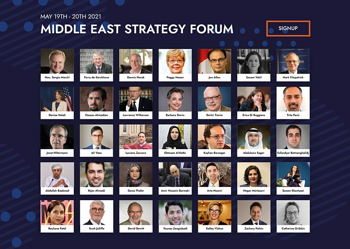 Middle East Strategy Forum 2021 image
