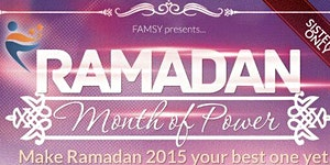 Ramadan - Month of Power. Make Ramadan 2015 your best...