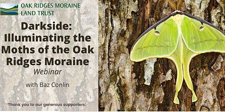Darkside: illuminating the Moths of the Oak Ridges Moraine tickets
