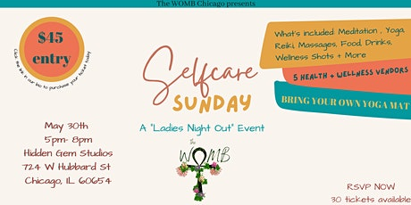 Self Care Sunday - A Ladies Night Out Event tickets