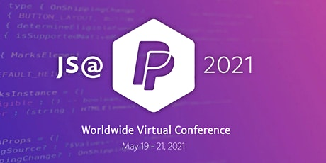 JS @ PayPal virtual conference tickets