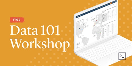 Data 101 Workshop tickets