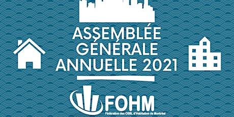Assemblée générale annuelle de la FOHM billets