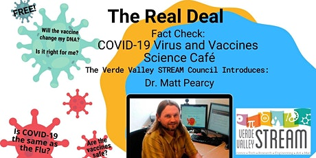 Science Cafe' - Fact Check:  COVID-19 Virus and Vaccines tickets