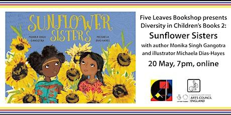 Diversity in Children's Literature 2: Sunflower Sisters author/illustrator tickets