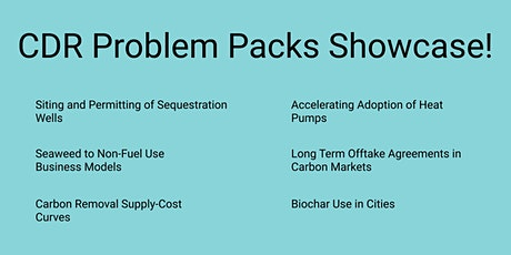 CDR Problem Packs April Showcase! tickets