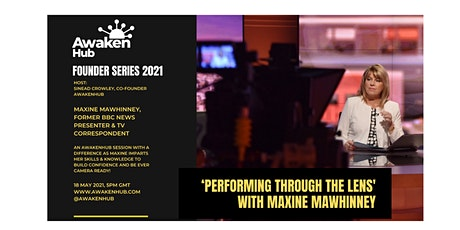 'Performing Through the Lens' session with Maxine Mawhinney tickets