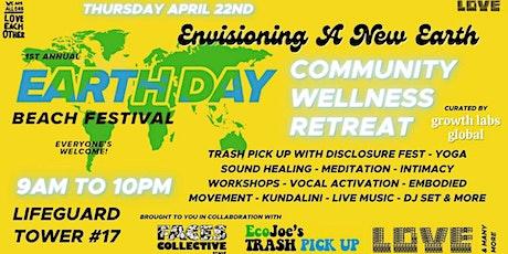 EARTH DAY BEACH FESTIVAL | Community Wellness Day tickets