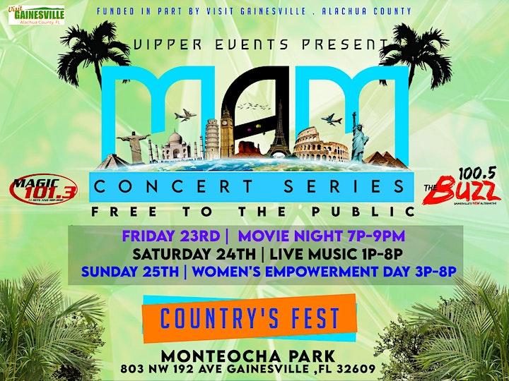 MAM Concert Series image