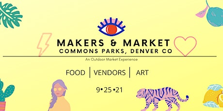 Makers & Market tickets