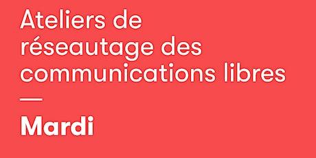 Réseautage - communications libres multidisciplinaires entradas