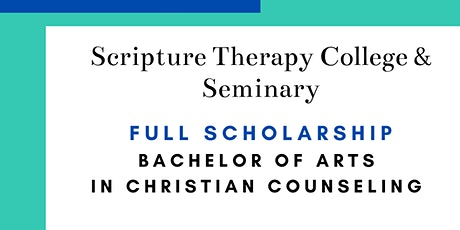 Bachelor of Arts: Christian Counseling, Full Scholarship tickets