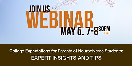 College Expectations for Neurodiverse Students: Expert Insight and Tips tickets
