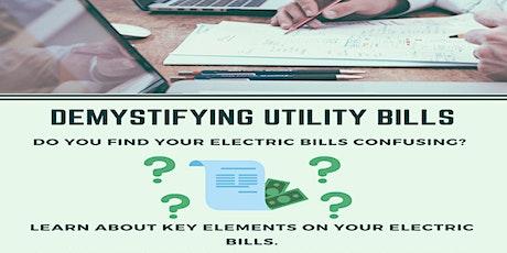 Demystifying Utility Bills tickets