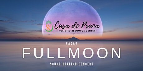 Cacao Full Moon Sound Healing Concert tickets