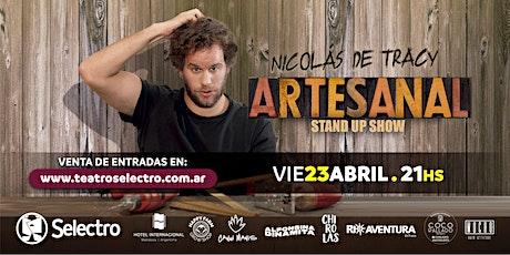 ARTESANAL - NICOLAS DE TRACY entradas