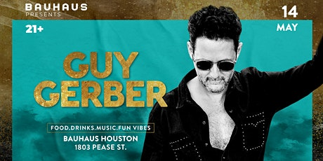 Bauhaus Presents: Guy Gerber tickets
