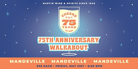 75th Anniversary Walkabout: Mandeville tickets
