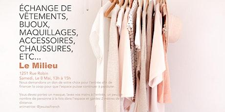 Clothing Exchange-Swap tickets