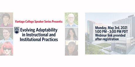 Evolving Adaptability in Instructional and Institutional Practices tickets