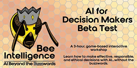 AI for Decision Makers : Beyond the Buzzwords Tickets