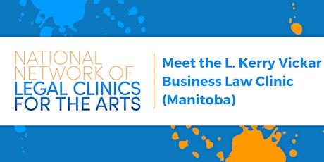 National Network Forum: Meet the L. Kerry Vickar Business Law Clinic (Man) tickets