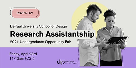 Research Opportunity Fair tickets