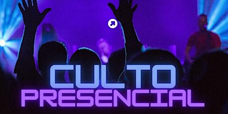 Culto Presencial (9:30 AM) tickets