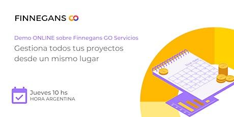 Demo Finnegans GO Servicios boletos