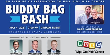 Buddy Bag Bash - An Evening of Inspiration to Help Kids with Cancer tickets