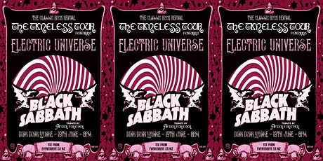 Classic Rock Revival Feat. Black Sabbath Tribute and Electric Universe tickets