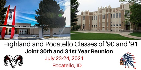Pocatello & Highland Combined 1990 and 1991 Class Reunion tickets