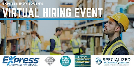 Specialized Recruiting Group's Virtual Hiring Event tickets