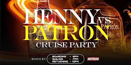 HENNY VS PATRON NEW YORK CITY CRUISE tickets