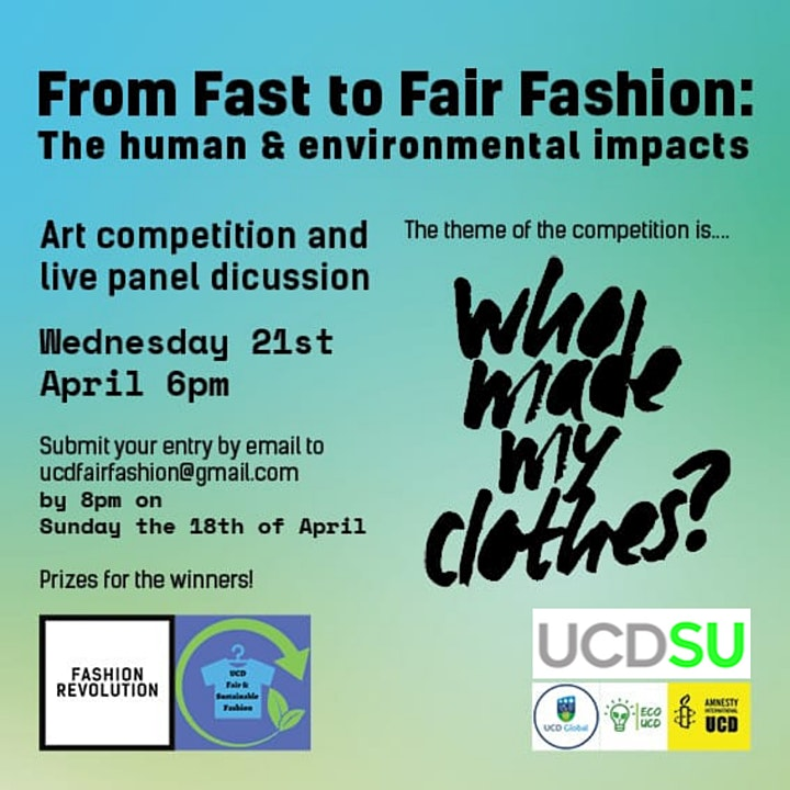From Fast to Fair Fashion: the human and environmental impacts image