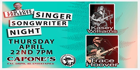 Singer Songwriter Night with Kasey Williams and Trace Hoover tickets