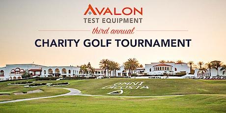 Avalon Test Equipment's Third Annual Charity Golf Tournament tickets