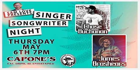 Singer Songwriter Night with Chase Buchanan  and James Brashears tickets