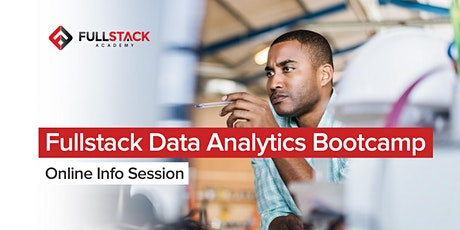 Fullstack Data Analytics Bootcamp Online Info Session tickets